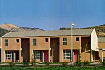 Photo of low income housing