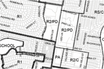 Drawing of subdivision mapping