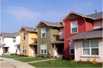 Photo of affordable housing units